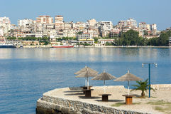 Saranda Waterfront, Albania Stock Photography
