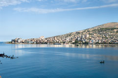 Saranda Waterfront, Albania Stock Photos