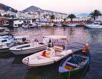 Sarande, Albania – July 13, 2018: City port of Saranda. Albania. stock images