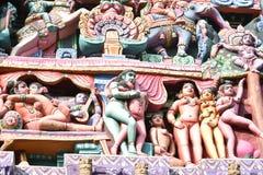 Sarangapani寺庙,库姆巴科纳姆,泰米尔・那杜 库存图片