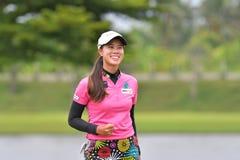 Saranpron Langkulgasettrin mästare av Thailand i PTT Thailand Royaltyfria Bilder