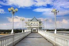 Sarasin桥梁 免版税库存照片