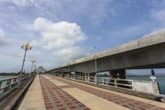Sarasin-Brücke Phuket, Thailand Stockbilder