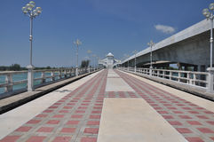 The Sarasin Bridge. Royalty Free Stock Photos