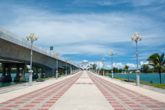 Sarasin Bridge royalty free stock photo