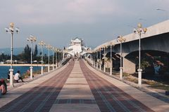 Sarasin Bridge, Phuket, Thailand Royalty Free Stock Photography