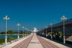 Sarasin Bridge to Phuket's tourist attractions. Stock Photos