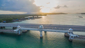 Sarasin love story bridge in Phuket island Royalty Free Stock Photography