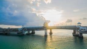 Sarasin love story bridge in Phuket island Stock Image