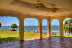 Sarasota Bay from Crosley Mansion Royalty Free Stock Photos