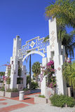 Sarasota Bayfront wejście obrazy stock