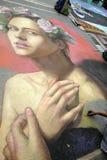 Sarasota chalk festival winner Stock Images