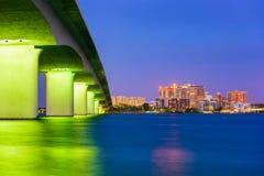 Sarasota Florida Skyline Royalty Free Stock Photography