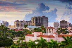 Sarasota linia horyzontu Obrazy Royalty Free