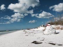 Sarasota-Sandmännchen stockbilder