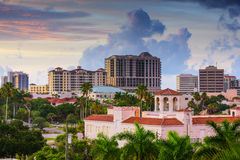 Sarasota Skyline Royalty Free Stock Images