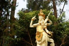 Saraswati Castle/ Puri Saraswati, Located near Cetho Temple Stock Photography