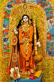 Godess Saraswati Royalty Free Stock Photos