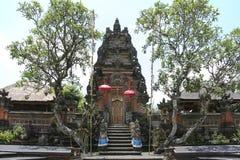 Saraswati temple ubud bali indonesia Stock Photos