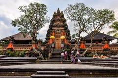 Saraswati Temple in Ubud, Bali Stock Image