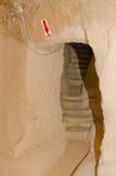 Saratli underground city, Turkey Royalty Free Stock Image