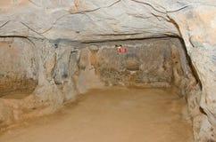 Saratli underground city, Turkey Royalty Free Stock Images