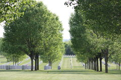 Saratoga National Cemetery Stock Photography