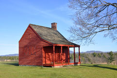Saratoga National Historical Park, New York, USA. John Neilson Farmhouse in Saratoga National Historical Park, Saratoga County, Upstate New York, USA. This is royalty free stock photos