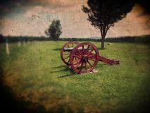 Saratoga Springs cannon Royalty Free Stock Photography