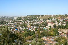 Saratov city stock photography