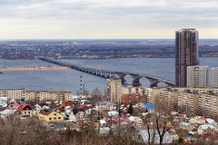Saratov City. Russia Royalty Free Stock Photography
