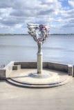 saratov Composition sculpturale étant amoureuse images stock