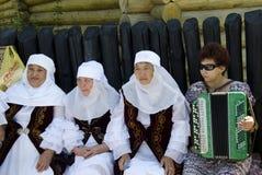 Saratov Grandmother Stock Images