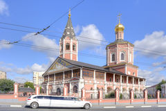 Saratov. Trinity Cathedral Royalty Free Stock Photography