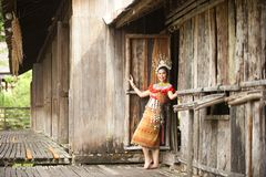 Sarawak Cultural Village royalty free stock photos