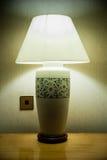 Sarawak-Fertigkeit-Tabellen-Lampe lizenzfreie stockfotografie