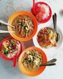 Sarawak laksa + belacan bee hoon + air batu campur/ice kacang. Sarawak Laksa+Belacan Bee hoon +Ice kacang/Air batu campur for lunch..yummy. Just incase if you stock photos