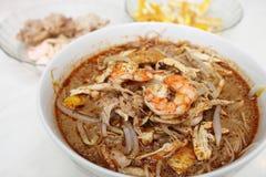 Sarawak Laksa (Sarawak Chinese Noodles) Stock Image