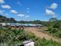 Sarawak Longhouse Images stock