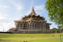 Sarawak-Parlaments-Gebäude Stockfotografie