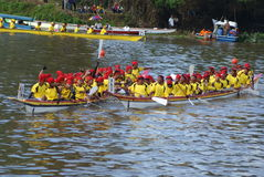 Sarawak Regatta. Is an annually events of a longboat race in conjunctions of Sarawak Independent in Malaysia Stock Photography