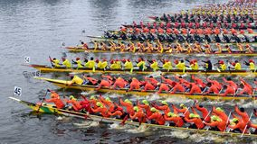 boat race competition Royalty Free Stock Image