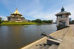 By the Sarawak river in Kuching, Sarawak, Malaysia Royalty Free Stock Photos