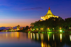 The Sarawak State Legislative Assembly Building at Dawn Royalty Free Stock Image