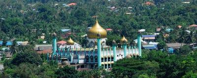 Sarawak State Mosque, Kuching, Sarawak, Malaysia. Stock Images