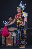 Sarawak Traditional Dance Royalty Free Stock Photography