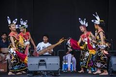 Sarawak Traditional Dance Royalty Free Stock Photo