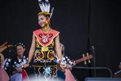 Sarawak Traditional Dance Royalty Free Stock Photos