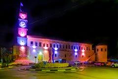 Saraya byggnad i Safed Tzfat royaltyfri foto