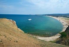 Sarayskiy plaża, zdjęcia stock